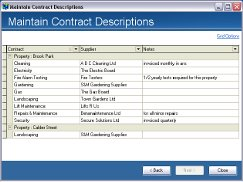 View all contracts for the whole portfolio